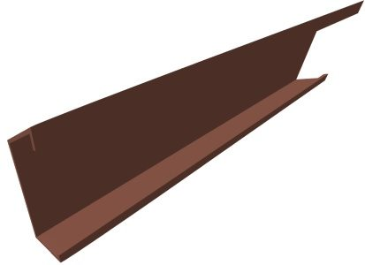 Eave Strut Product Fea P001 Component Side Angle Red Oxide