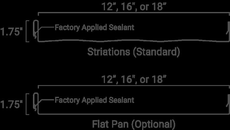 Vertical Seam Clip Fastened Standing Seam Best Buy Metals