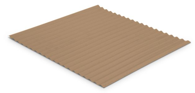 1 25 Corrugated Product C1 P001 Panel Side Angle