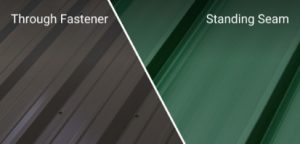 Metal Roof Panel Category Types