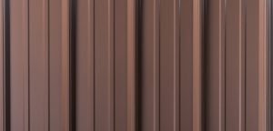 Brown Metal Roofing Panel