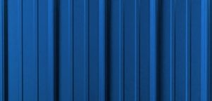 Gallery Blue Metal Roofing Panel