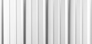 White Metal Roofing Panel