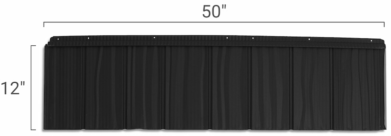 Cedar Creek Shake Panel Size